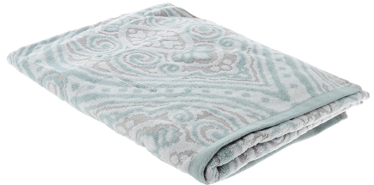 Полотенце Guten Morgen Дели, цвет: зеленый, серый, 50 х 90 см68/5/2При производстве полотенца Guten Morgen Дели используется сырье самого высокого качества: безопасные красители и 100% хлопок. Полотенца - это просто необходимый атрибут каждой ванной комнаты в любом доме. Полотенца Guten Morgen отлично впитывают влагу, комфортны для кожи, не содержат аллергенных красителей, имеют стойкий к стирке цвет.Состав: 100% хлопок; Размер: 50 х 90 см.