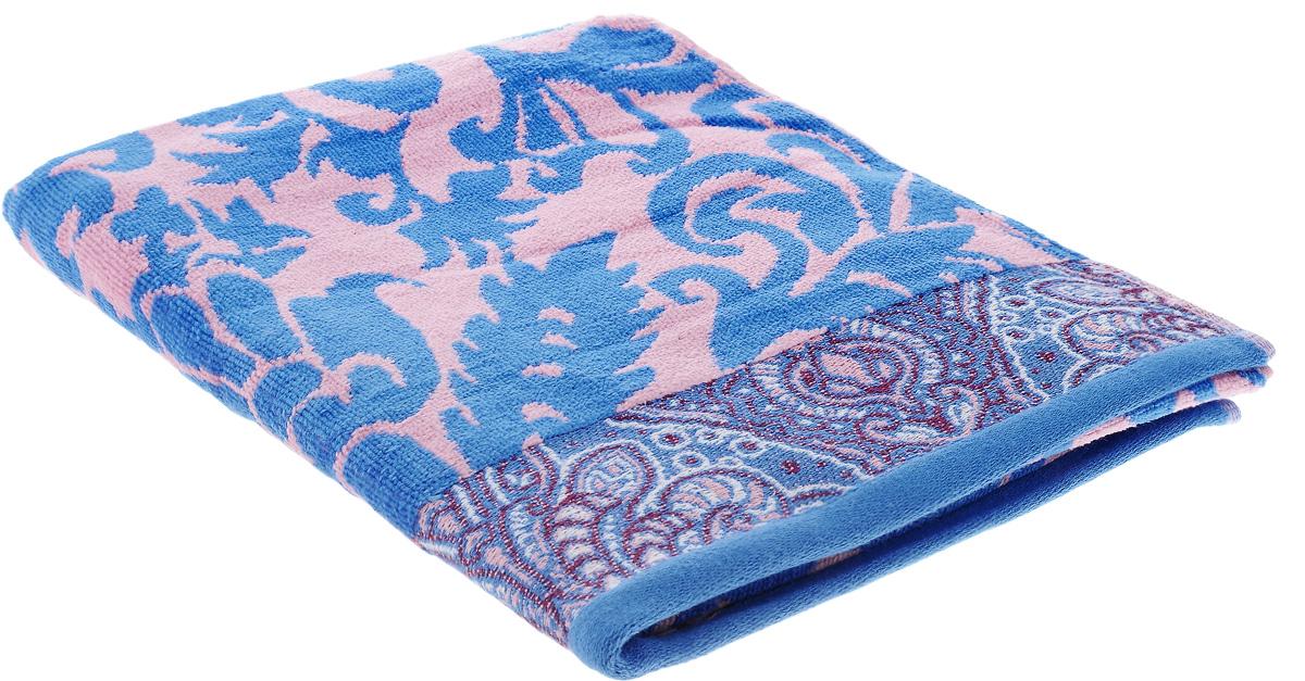 Полотенце Guten Morgen Гоа, цвет: синий, розовый, 70 х 130 смBTY-101170130РПри производстве полотенца Guten Morgen Гоа используется сырье самого высокого качества: безопасные красители и 100% хлопок. Полотенца - это просто необходимый атрибут каждой ванной комнаты в любом доме. Полотенца Guten Morgen отлично впитывают влагу, комфортны для кожи, не содержат аллергенных красителей, имеют стойкий к стирке цвет. Состав: 100% хлопок; Размер: 70 х 130 см.