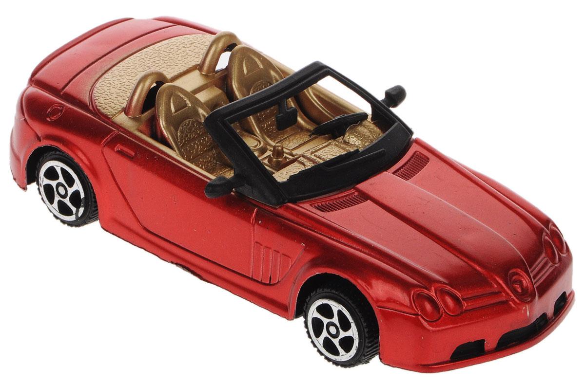 Junfa Toys Машинка инерционная цвет красный