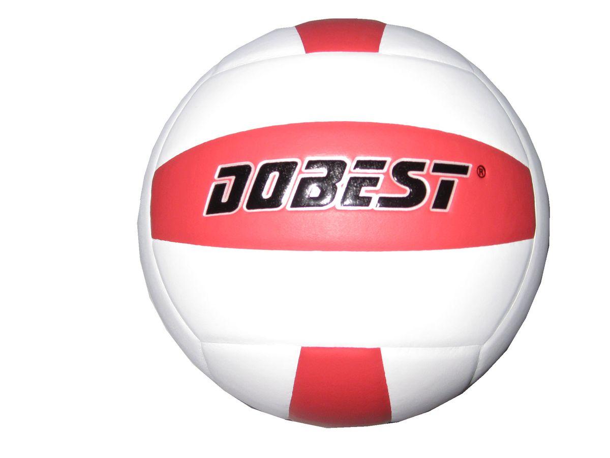 Мяч волейбольный Dobest SU200. Размер 528262371Основные характеристики Вид: волейбольный Уровень игры: любительский Размер: 5 Количество панелей: 18 Количество слоев: 4 Вес: 260-280гр Тип соединения панелей: клееный Материал камеры: резина Материал: синтетическая кожа Цвет основной: белый Цвет дополнительный: красный Подходит для игры на улице и в зале Страна-производитель: Китай Упаковка: пакет (поставляется в сдутом виде)