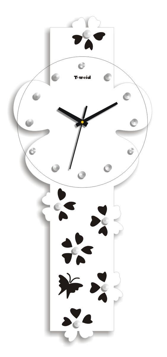 Часы настенные T-Weid, цвет: белый, 25 х 59 х 5 смM 3101 C WhiteНастенные кварцевые часы - это прекрасный предмет декора, а также универсальный подарок практически по любому поводу. Корпус часов, выполнен из дерева с белым матовым покрытием. Циферблат часов оснащен тремя фигурными стрелками: часовой, минутной и секундной. Часы украшены стразами. Циферблат и стрелки защищены прочным стеклом, который крепится четырьмя металлическими крепежами к корпусу. На задней стенке часов расположена металлическая петелька для подвешивания и блок с часовым механизмом. Часы прекрасно впишутся в любой интерьер. Тип механизма: плавающий, бесшумный. Рекомендуется докупить батарейку типа АА (не входит в комплект).