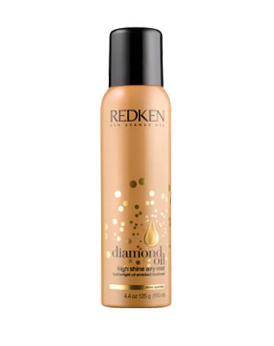 Redken Diamond Oil Airy Mist Спрей-масло для увлажнения и блеска, 150 млMP59.4DРеволюционно новый спрей блеск для волос - лечение, возрождение и укрепление тусклых и тонких волос.Спрей Diamond Oil Airy Mist - бриллиантовый блеск для волос, легкий спрей-масло в уникальном формате аэрозоля, который поможет добавить плотности тонким волосам, придать им блеск бриллиантов, станет идеальным завершением любого образа.