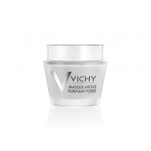 Vichy Маска очищающая поры, 75 млM9104800Минеральная маска с глиной глубоко очищает поры и оказывает выраженный детокс эффект. Каолин и бентонит (два типа белой глины) вытягивают загрязнения из пор, глубоко очищая кожу. Аллантоин и алоэ вера смягчают и предотвращают пересыхание кожи. Восстанавливает минеральный баланс кожи.
