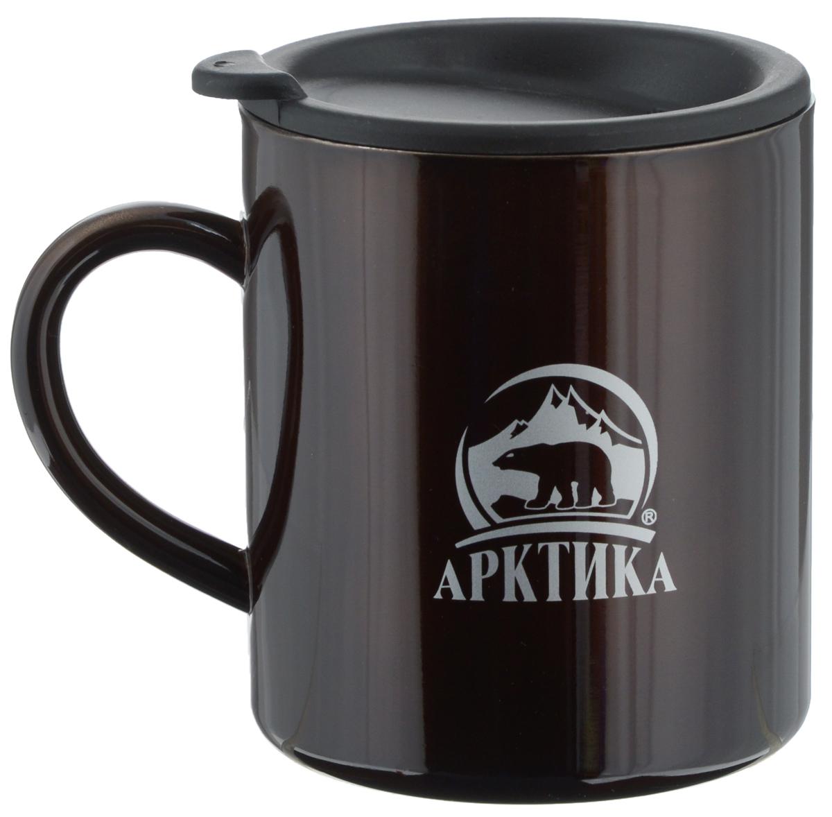Термокружка Арктика, цвет: кофейный, 450 мл802-450 кофейнаяТермокружка Арктика, изготовленная из высококачественной нержавеющей стали и пищевого пластика, подходит как для холодных, так и для горячих напитков. Изделие оснащено крышкой которая предохранит от проливания. Не рекомендуется использовать в микроволновой печи и мыть в посудомоечной машине. Диаметр (по верхнему краю): 8,8 см. Высота кружки (без учета крышки): 10 см.