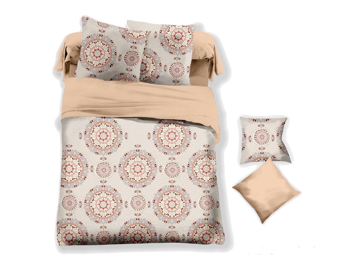 Комплект белья Cleo Калипсо, 2-спальный, наволочки 70х7020/044-PLКоллекция постельного белья из микросатина CLEO – совершенство экономии, но не на качестве! Благодаря новейшим технологиям микросатин – это прочность, легкость, простота в уходе, всегда яркие цвета после стирки. Микро-сатин набирает все большую популярность, благодаря своим уникальным характеристикам. Окраска материала - стойкая, цветовая палитра - яркая, насыщенная. Микро-сатин хорошо впитывает влагу, а после стирки быстро сохнет, становясь шелковистым на ощупь, мягким и воздушным. Комплект состоит из пододеяльника, двух наволочек и простыни.