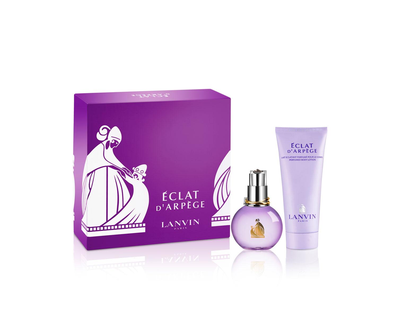 Lanvin Arpege Eclat Woman Подарочный набор: парфюмированная вода 50 мл + лосьон для тела 100 мл3966Цветочные, фруктовые. Пион, цветок персика, чай, амбра, мускус, сирень, злаки, кедр, османтус.