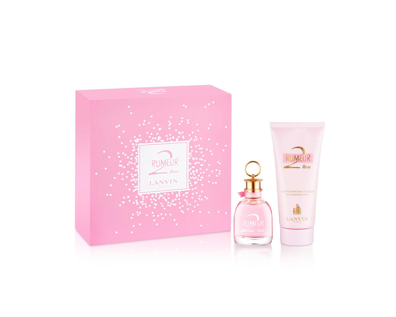 Lanvin Rumeur 2 Rose Woman Подарочный набор: парфюмированная вода 50 мл + лосьон для тела 100 мл11840Цветочные, фруктовые. Апельсин, бергамот, грейпфрут, груша, лимон, ноты свежести, жасмин, жимолость, ландыш, магнолия, роза, амбра, мускус, пачули.