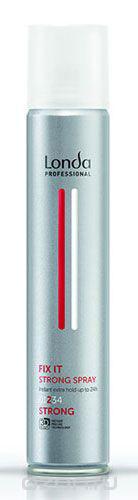 LC СТАЙЛИНГ Лак NEW д/волос сильной фиксации FIX IT 300мл0990-81545314Профессиональный быстросохнущий лак Londa Fix с микрополимерами 3D-Sculpt. Легкая формула и долговременный результат. Обеспечивает долговременную фиксацию прически на срок до 24 часов. Характеристики: Объем: 300 мл. Производитель: Германия. Товар сертифицирован.