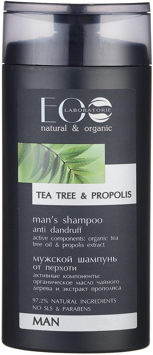 EcoLab ЭкоЛаб Шампунь для волос Против перхоти 250 мл3078Органическое масло чайного дерева обладает противогрибковым свойством и способно бороться с перхотью, оно успешно убирает шелушение и зуд, делая волосы и кожу головы чистыми и здоровыми. Антимикробное воздействие прополиса помогает предотвратить и устранить перхоть. Растительные смолы, витамины и минеральные соли укрепляют волосы, придают им блеск и эластичность.
