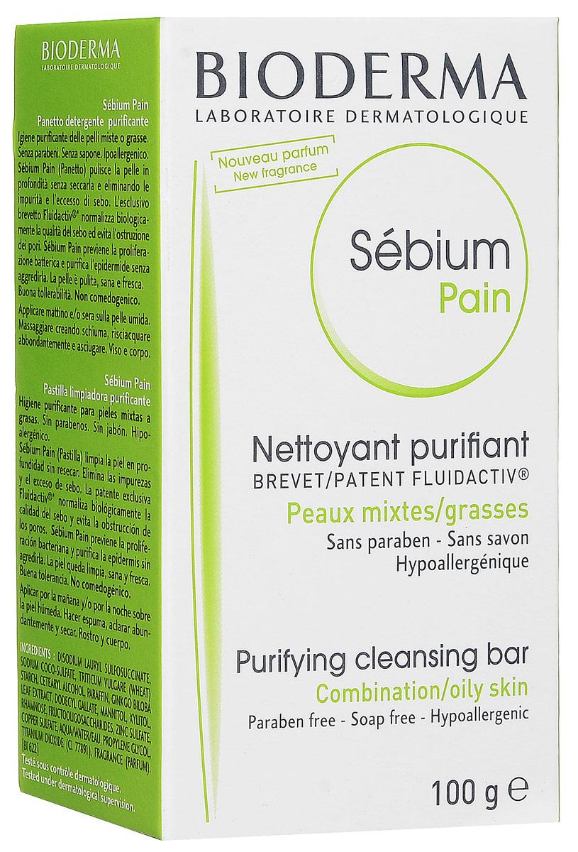 Bioderma Мыло Sebium, 100 г028613IМыло Sebium тщательно очищает кожу, идеально удаляя загрязнения и избыток кожного сала. Эксклюзивный запатентованный комплекс Флюидактив сохраняет качество кожного сала, предупреждая закупорку пор. Предупреждает бактериальную пролиферацию, деликатно очищая эпидермис.
