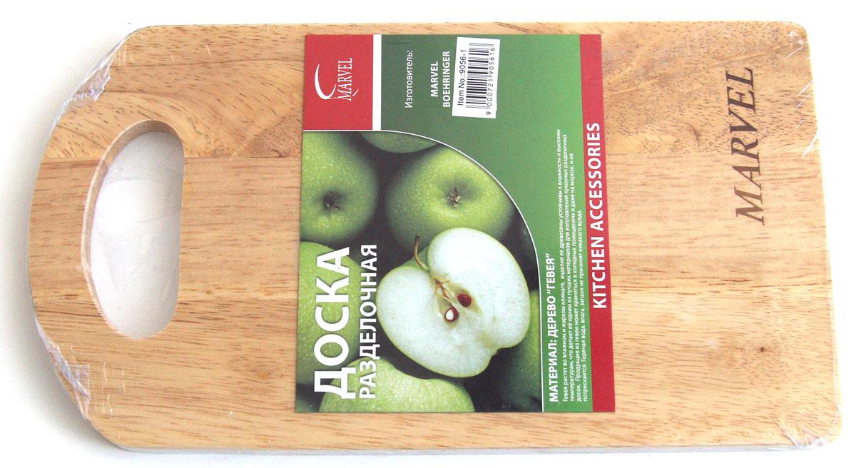 Доска разделочная Marvel, 27 х 15 х 1 см9056-1Разделочная доска Marvel, выполненная из дерева, прекрасно впишется в интерьер любой кухни и прослужит вам долгие годы.