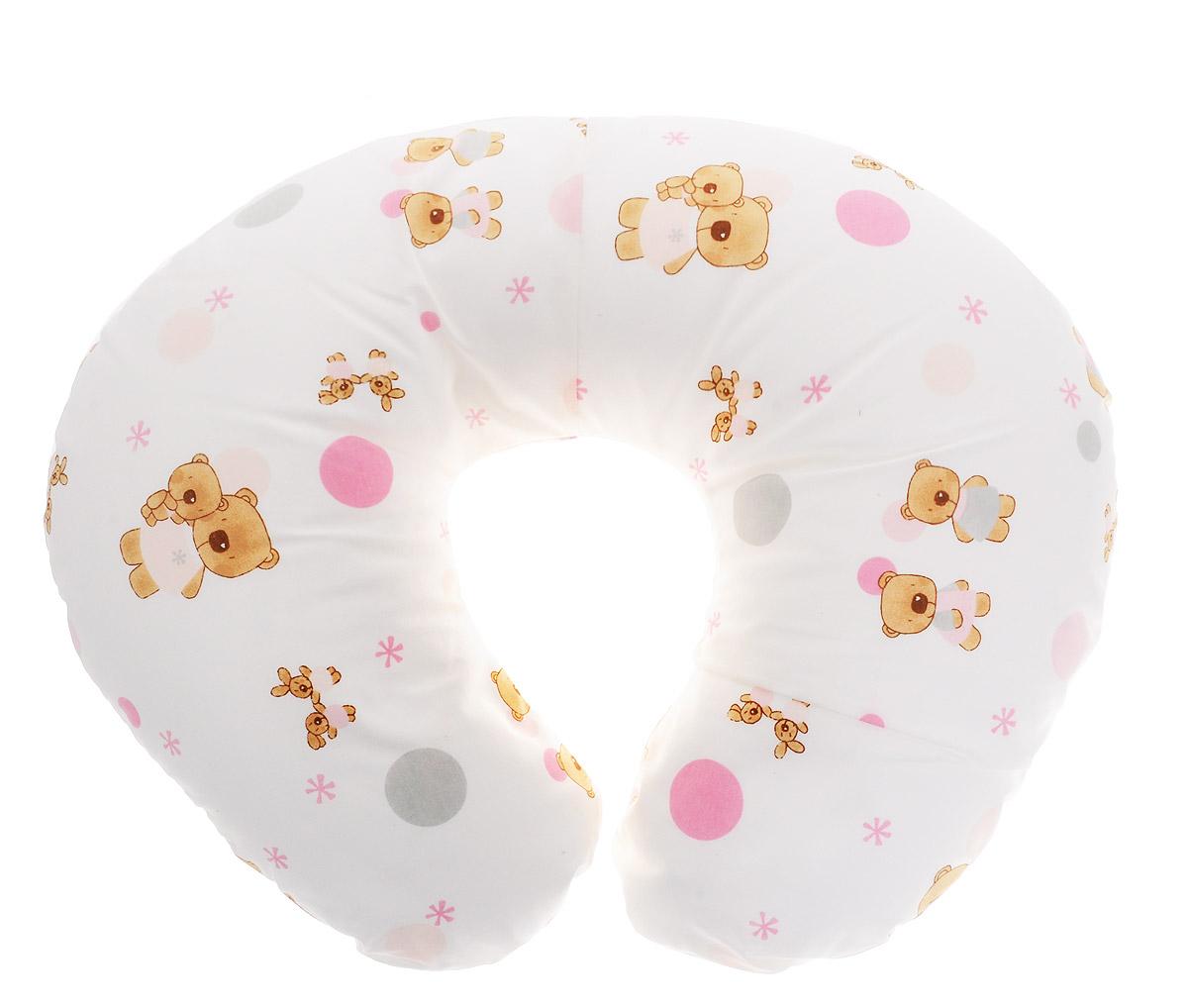 Plantex Подушка для кормящих и беременных мам Comfy Small Мишка и Зайцы1030_мишка и зыйцы белый розовыйМногофункциональная подушка Plantex Comfy Small. Мишка и Зайцы идеальна для удобства ребенка и его родителей. Зачастую именно эта модель называется подушкой для беременных. Ведь она создана именно для будущих мам с учетом всех анатомических особенностей в этот период. На любом сроке беременности она бережно поддержит растущий животик и поможет сохранить комфортное и безопасное положение во время сна. Подушка идеально подходит для кормления уже появившегося малыша. Позже многофункциональная подушка поможет ему сохранить равновесие при первых попытках сесть. Чехол подушки выполнен из 100% хлопка и снабжен застежкой-молнией, что позволяет без труда снять и постирать его. Наполнителем подушки служат полистироловые шарики - экологичные, не деформируются сами и хорошо сохраняют форму подушки. Подушка для кормящих и беременных мам Plantex Comfy Small.Мишка и Зайцы - это удобная и практичная вещь, которая прослужит вам долгое время. Подушка поставляется в сумке-чехле. ...