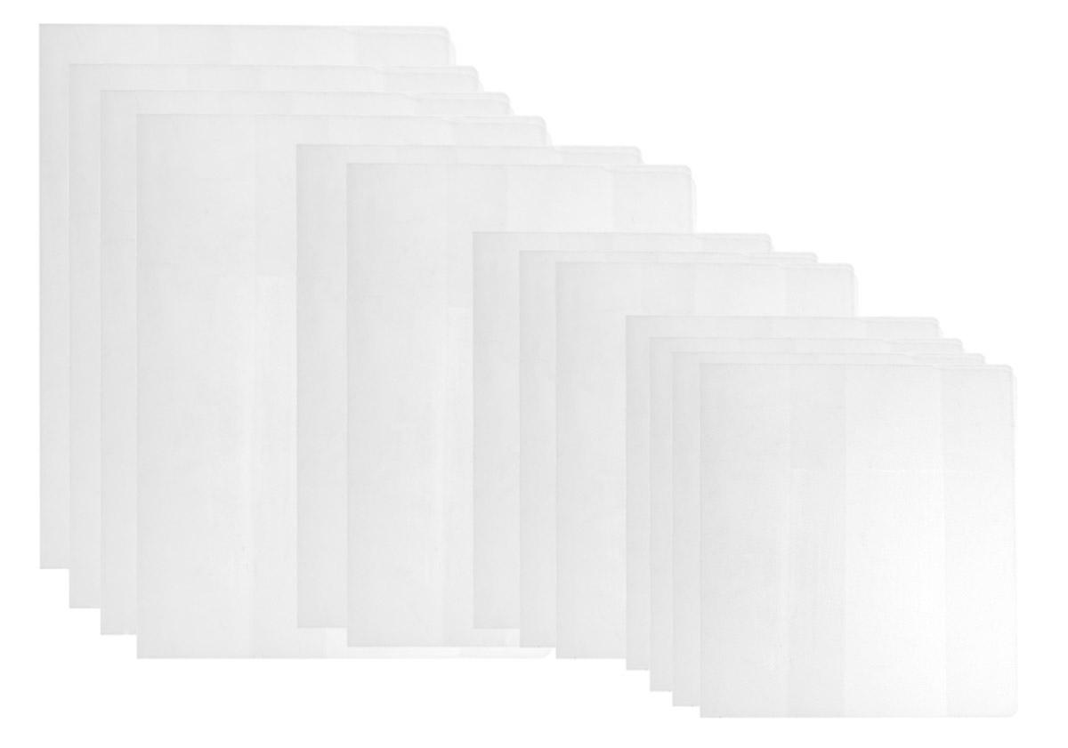 Апплика Набор школьных обложек для начальных классов 15 шт72523WDНабор школьных обложек для учебников и тетрадей Апплика выполнен из прозрачного ПВХ. Они предназначены для защиты учебников и тетрадей от пыли, грязи и механических повреждений. Отличное качество, высокая прозрачность, прочность и долговечность - это главные преимущества этого товара. В наборе 15 обложек разных размеров полупрозрачного цвета,предназначенных на разные типы учебников и тетрадей.