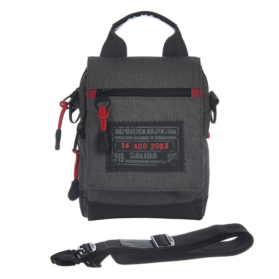 Сумка молодежная Grizzly, цвет: черный, 3 л. МS-614-4/322-0570 SМолодежная сумка Grizzly имеет одно отделение, клапан на магнитных кнопках с карманом на молнии, объемный передний карман на молнии, задний карман на молнии, дополнительная ручка-петля, съемный регулируемый плечевой ремень, шлевка для ношения на поясном ремне.