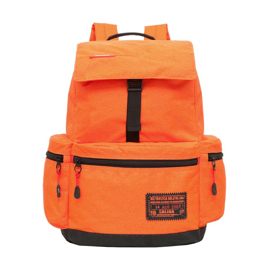 Рюкзак молодежный Grizzly, цвет: оранжевый. 18 л. RU-614-1/2RU-614-1/2Рюкзак молодежный, одно отделение, клапан на фастексах, объемный карман на молнии на передней стенке, объемные боковые карманы на молнии, внутренний карман на молнии, укрепленная спинка, дополнительная ручка-петля, укрепленные лямки, закрывается затягивающимся шнуром