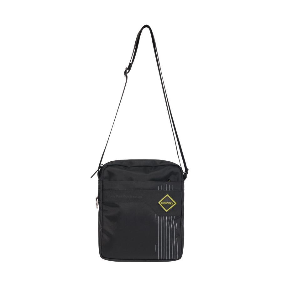 Сумка молодежная Grizzly, цвет: черный-салатовый. 5 л. MM-618-4/1MM-618-4/1Молодежная сумка, два отделения, плоский передний карман на молнии, задний карман на молнии, внутренний карман для ноутбука/планшета, регулируемый плечевой ремень