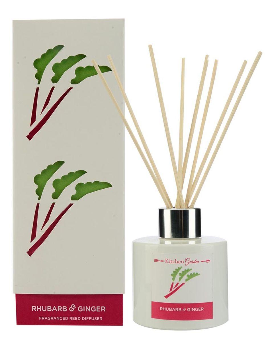 Диффузор ароматический Wax Lyrical Ревень с имбирем, 100 млKG0104Сладкий и одновременно пряный аромат. Ревень придаёт парфюмерной композиции свежесть, фруктово-зеленый оттенок с необходимой кислинкой; имбирь отдаёт ей свои специевые аккорды, а вместе они идеально дополняют ноты клубники, яблока и цветов жасмина.