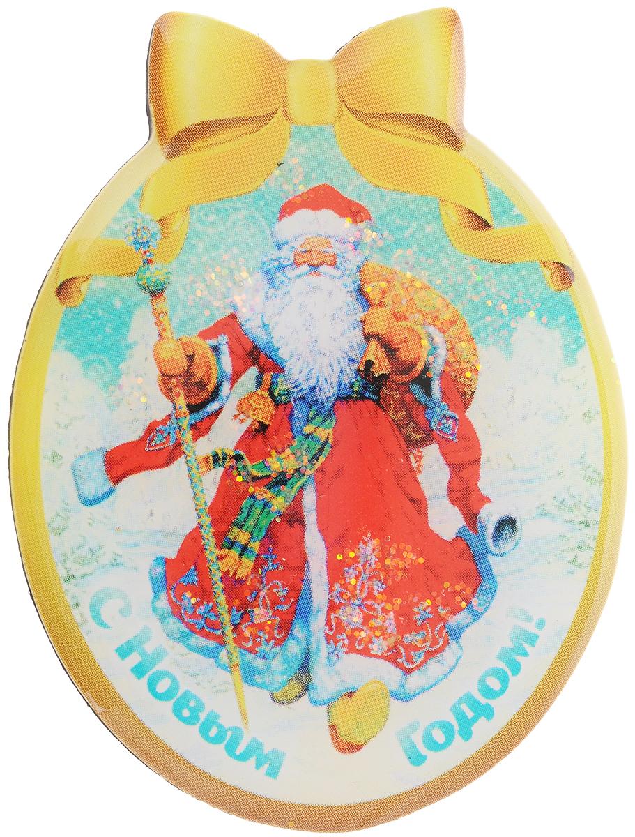 Магнит Magic Time Дед мороз в красном кафтане, 4,6 x 6 см42295Магнит Magic Time Дед мороз в красном кафтане, выполненный из агломерированного феррита, прекрасно подойдет в качестве сувенира к Новому году. Магнит - одно из самых простых, недорогих и при этом оригинальных украшений интерьера. Он поможет вам украсить не только холодильник, но и любую другую магнитную поверхность. Размер: 4,6 х 6 см. Материал: агломерированный феррит.