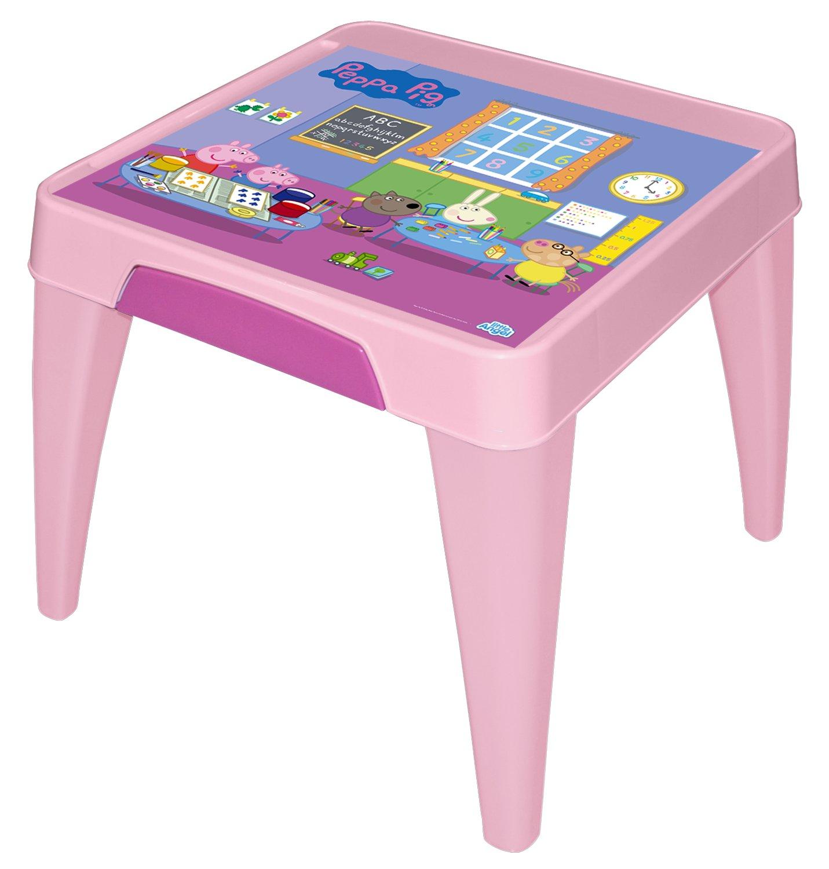 "Стол детский Little Angel ""Свинка Пеппа. Я расту"", цвет: розовый LA4502РРРЗ"