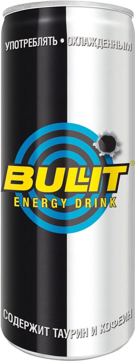 Bullit энергетический напиток, 250 мл9008703000014Безалкогольный тонизирующий (энергетический) газированный напиток, специально разработанный для лиц, подвергающихся значительным психо- эмоциональным и физическим нагрузкам. Он незаменим в самых разных ситуациях: при занятии спортом, напряженной работе, за рулем и на вечеринках. Повышает работоспособность, повышает концентрацию внимания и скорость реакции, поднимает настроение, ускоряет обмен веществ.