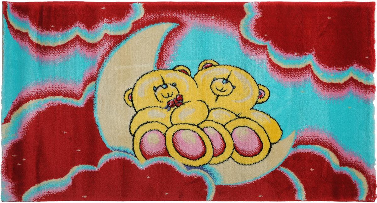 Ковер детский Kamalak Tekstil Мишки, прямоугольный, 60 x 110 смУКД-2024Детский ковер Kamalak Tekstil Мишки изготовлен из высококачественного полипропилена. Полипропилен износостоек, нетоксичен, не впитывает влагу, не провоцирует аллергию. Структура волокна в полипропиленовых коврах гладкая, поэтому грязь не будет въедаться и скапливаться на ворсе. Практичный и износоустойчивый ворс не истирается и не накапливает статическое электричество. Ковер обладает хорошими показателями теплостойкости и шумоизоляции. Оригинальный рисунок позволит гармонично оформить интерьер детской комнаты. За счет невысокого ворса ковер легко чистить. При надлежащем уходе синтетический ковер прослужит долго, не утратив ни яркости узора, ни блеска ворса, ни упругости. Самый простой способ избавить изделие от грязи - пропылесосить его с обеих сторон (лицевой и изнаночной). Влажная уборка с применением шампуней и моющих средств не противопоказана. Хранить рекомендуется в свернутом рулоном виде.
