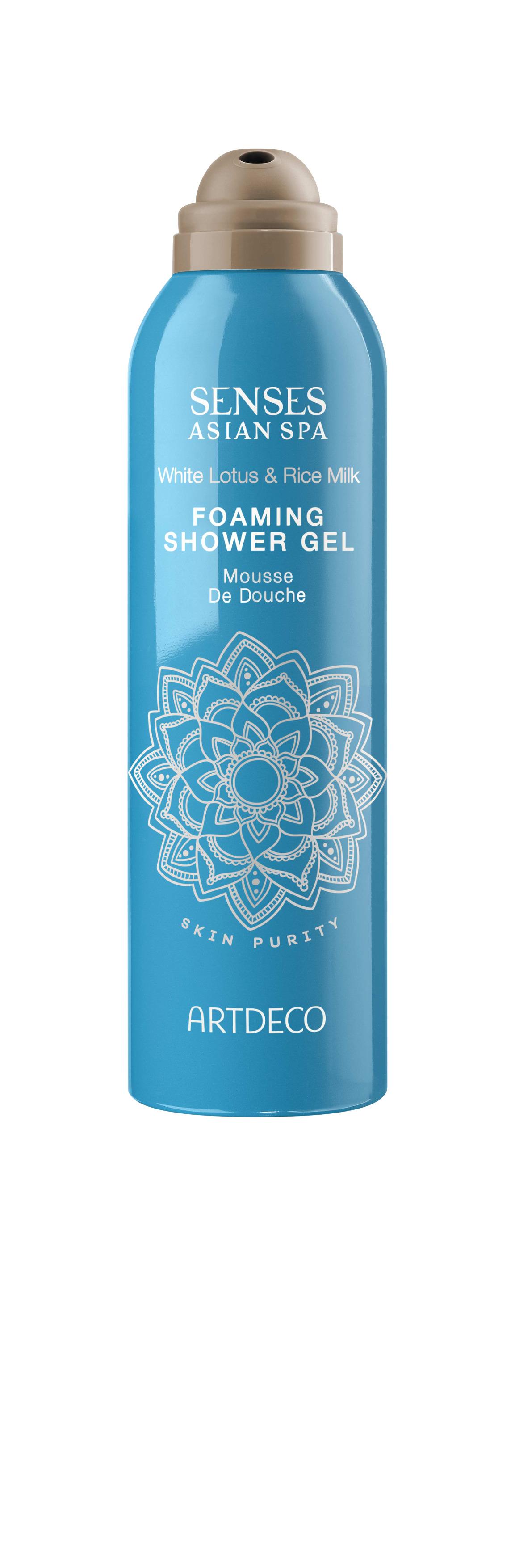 Artdeco гель-пена для душа Foaming shower gel, skin purity, 200 мл65400Нежно очищает кожу Увлажняет и освежает При контакте с водой превращается в воздушную пену