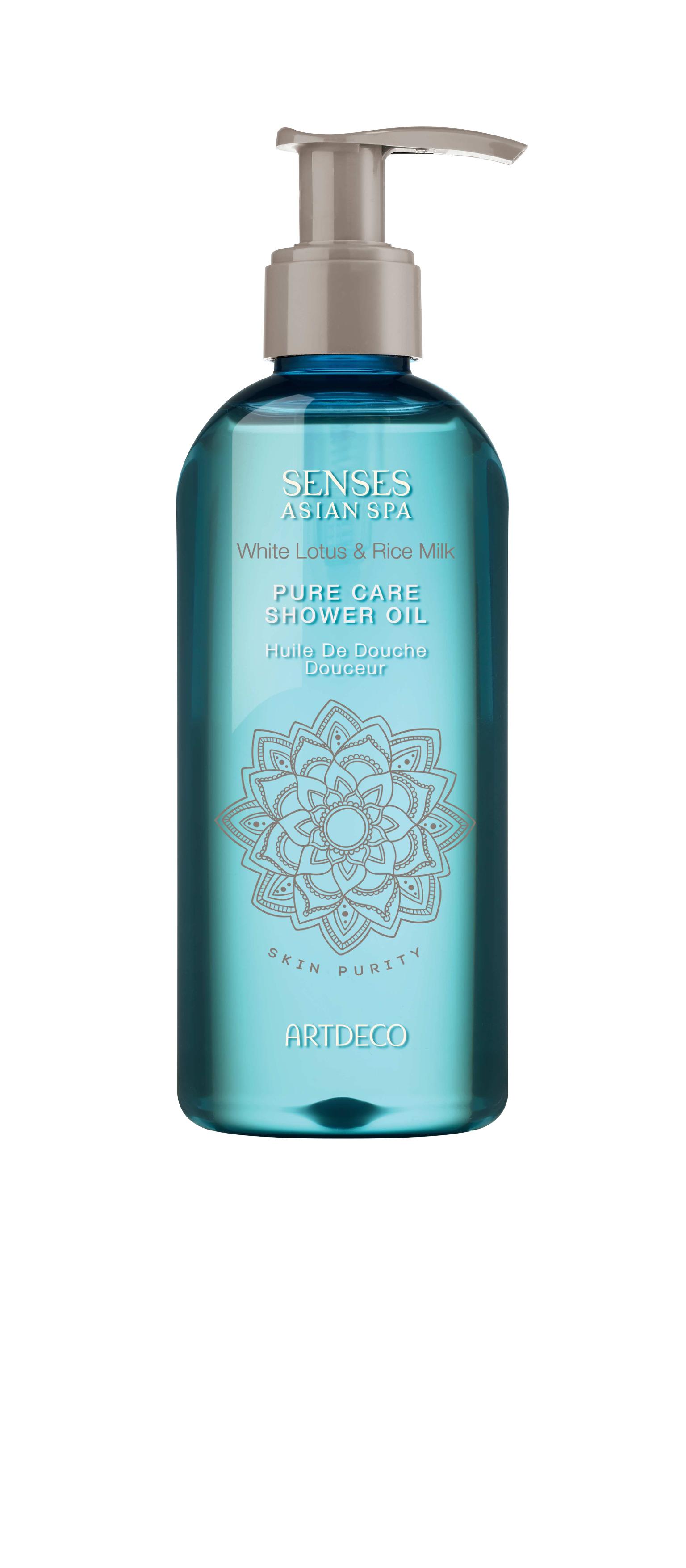 Artdeco масло для душа Pure care shower oil, skin purity, 200 мл65401Деликатно очищает кожу Увлажняет и питает Дарит упоительный аромат