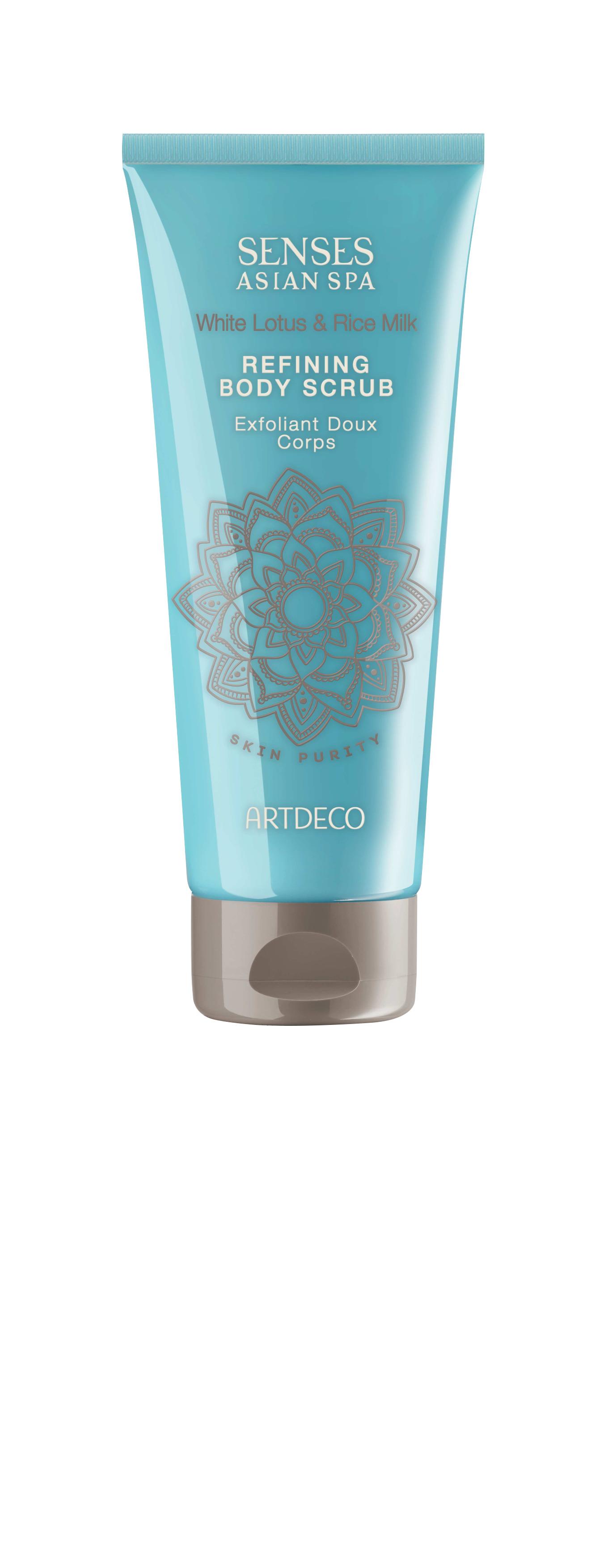 Artdeco скраб для тела очищающий Refining body scrub, skin purity, 200 мл65404Делает кожу гладкой, убирает ороговевшие частички Улучшает микроциркуляцию