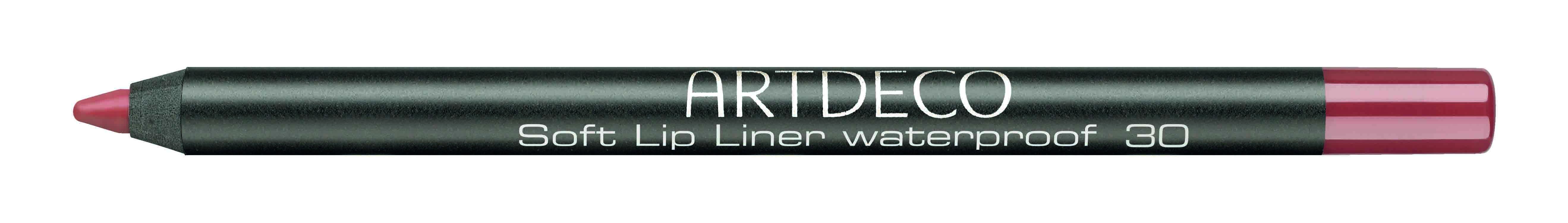 Artdeco карандаш для губ водостойкий 30 1,2г172.30Контур со стойкой текстурой и насыщенным цветом не позволяет растекаться помаде или блеску, помогает сделать чувственный макияж губ.