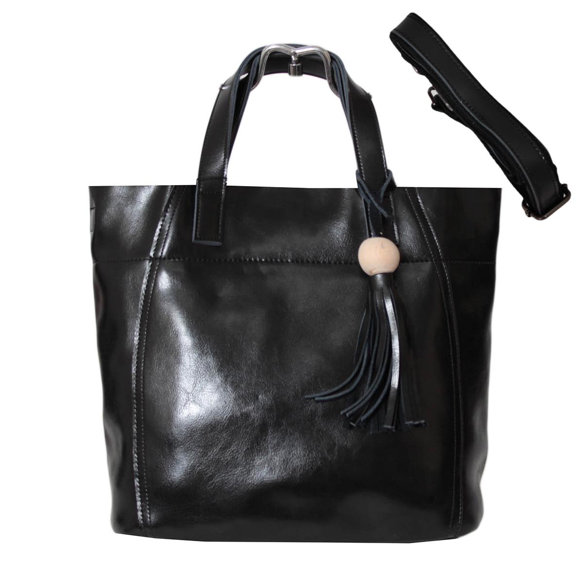 Сумка женская Flioraj, цвет: черный. 0005246873298с-1Сумка Flioraj выполнена из высококачественной искусственной кожи. Изделие оснащено удобными ручками и съемнымплечевым ремнем, длина которого регулируется с помощью пряжки. На тыльной стороне находится вшитый карман на молнии. Внутри расположено главное отделение, которое содержит два кармана на молниях и два открытых накладных кармана для телефона и мелочей.