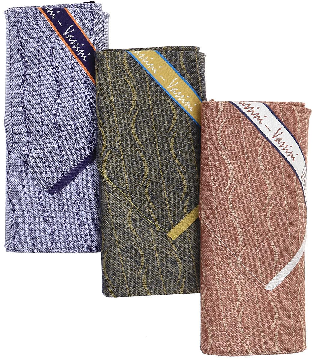 Платок носовой мужской Zlata Korunka, цвет: мультиколор, 3 шт. М05. Размер 45 х 45 смМ05Носовые платки изготовлены из натурального хлопка, приятны в использовании, хорошо стираются, материал не садится и отлично впитывает влагу. В упаковке 3 штуки.