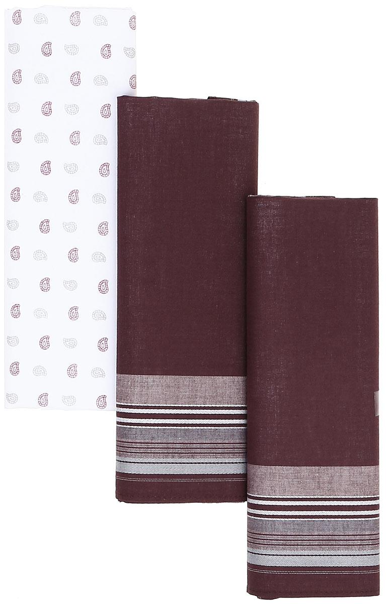 Платок носовой мужской Zlata Korunka, цвет: мультиколор, 3 шт. М39С. Размер 42 х 42 смМ39СПлатки носовые мужские в упаковке по 3 шт. Носовые платки изготовлены из 100% хлопка, так как этот материал приятен в использовании, хорошо стирается, не садится, отлично впитывает влагу.