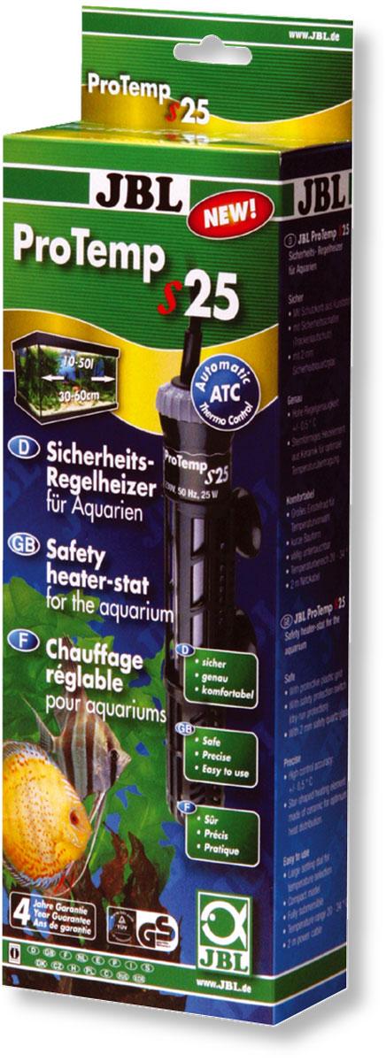 Нагреватель для аквариума JBL ProTemp S, с терморегулятором, 25 ВтJBL6042100Нагреватель JBL ProTemp S обеспечивает высокую точность поддержания заданной температуры. Идеальная передача температуры за счет нагревательного элемента из керамики. Полностью погружной. Ударопрочный корпус, выполненный из высококачественного стекла, обеспечивает нагревателю долгий срок эксплуатации. Нагреватель оснащен терморегулятором со шкалой температуры. Пластиковый кожух защитит рыб от ожогов. Крепится при помощи двух присосок. Автоматическое отключение нагревателя при понижении уровня воды или при его извлечении. Мощность: 25 Вт. Температура: 20-34°С. Рекомендуемый объем аквариума: 10-50 л. Напряжение: 220-240В. Частота: 50/60 Гц. Длина нагревателя: 21 см.
