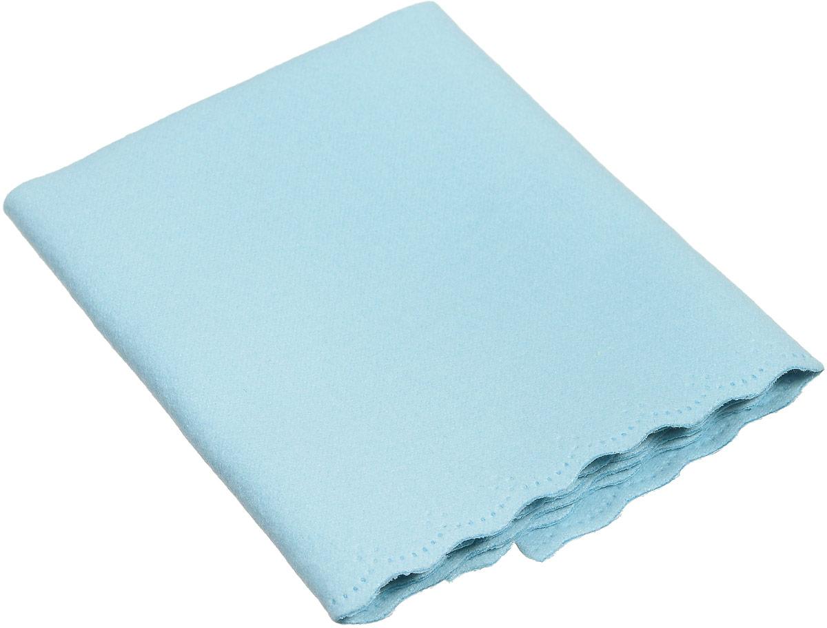 Proffi Home Салфетка для очков из микрофибры, цвет: голубойPH6740_голубой