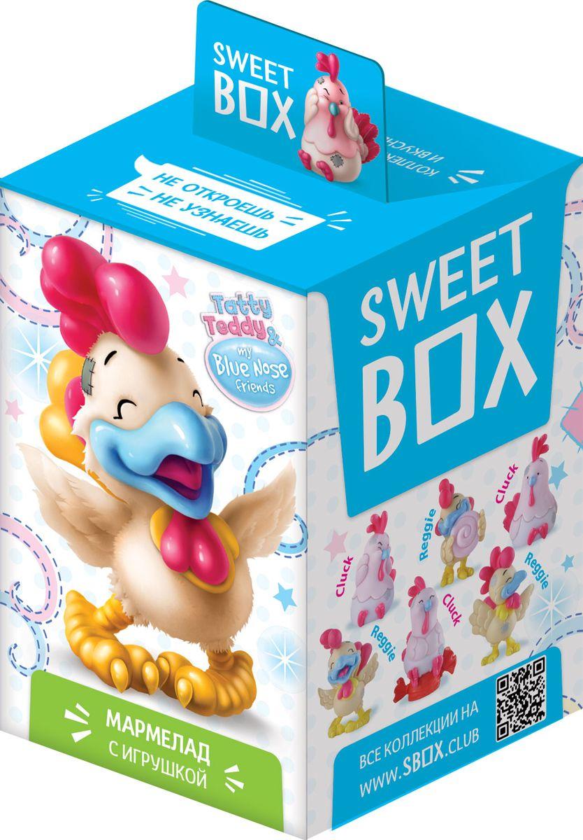 """Sweet Box """"Петухи"""" мармелад жевательный с игрушкой, 10 г УТ19061"""