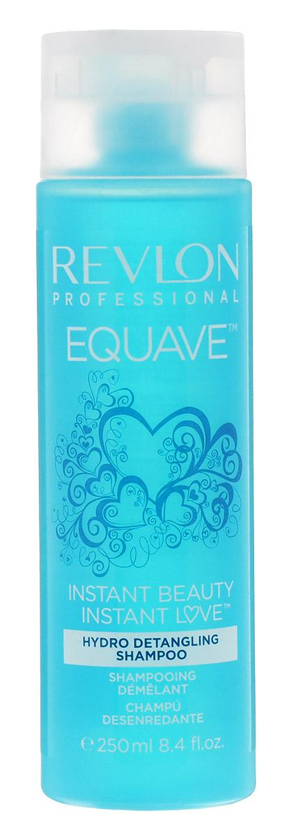 Revlon Professional Equave Шампунь, облегчающий расчесывание волос Instant Beauty Hydro Nutritive Detangling 250 млFS-00897Шампунь, облегчающий расчесывание волос уменьшает спутанность, обладает восстановительным, укрепляющим эффектом. Препятствует возникновению сухости и придает волосам здоровый блеск и красоту.Специалисты компании Revlon создали для ослабленных, ломких, поврежденных и путающихся волос шампунь Hydro Detangling Shampoo с повышенным содержанием кератина. Этот шампунь создан на базе новых разработок компании и значительно облегчает процедуру расчесывания и укладки волос.Вы испытаете восхитительное ощущение легкости и чистоты! Шампунь мягко и глубоко очищает и кондиционирует волосы, укрепляет их и оздоравливает. Благодаря кератиновому питанию они становятся мягкими и прочными, здоровыми и сияющими.