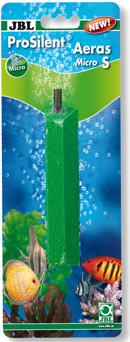 Распылитель для аквариума JBL ProSilent Aeras Micro S, для получения мелких пузырьков, длина 10 смJBL6148700Распылитель JBL ProSilent Aeras Micro S предназначен для обогащения кислородом и улучшения циркуляции аквариумной воды, а также для получения особо мелких пузырьков. Изготовлен из смеси мелкого кварцевого песка и выполнен продолговатой конусной формы. Подходит для пресной и морской воды. Материалы: кварцевый песок, пластик. Размер распылителя: 2 х 2 х 10 см.