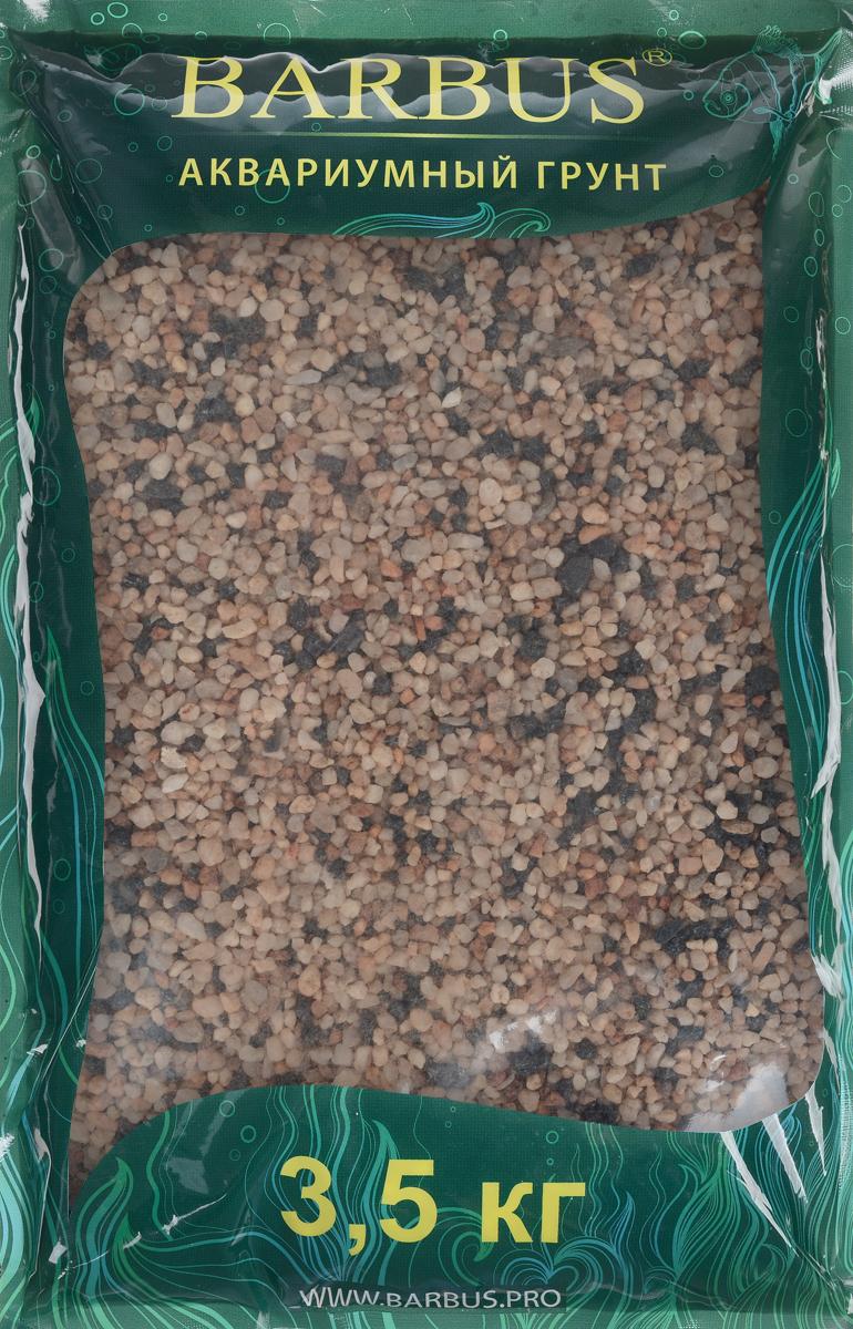 Грунт для аквариума Barbus Премиум, натуральный, кварц, 4-4 мм, 3,5 кгGRAVEL 023/3,5Натуральный природный грунт в виде кварца Barbus Премиум прекрасно подходит для применения в пресноводных аквариумах, а также в палюдариумах и террариумах. Грунт является субстратом для укоренения водных растений и служит неотъемлемой частью естественной средой обитания рыб. Безопасен для всех видов рыб и живых растений. Перед применением просто промыть. Предназначен для аквариумов до 20 литров. Фракция: 2-4 мм.