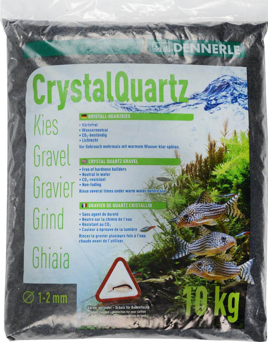 Грунт для аквариума Dennerle Kristall-Quarz, натуральный, цвет: черный, 1-2 мм, 10 кг0120710Натуральный грунт Dennerle Kristall-Quarz предназначен специально для оформления аквариумов. Изделие готово к применению.Натуральный гравий имеет округлую форму зерна, поэтому он безопасен для донных рыб.Гравий является светостойким, он устойчив к CO2, нейтрален к воде.Грунт  Dennerle  порадует начинающих любителей природы и самых придирчивых дизайнеров, стремящихся к созданию нового, оригинального. Такая декорация придутся по вкусу и обитателям аквариумов и террариумов, которые ещё больше приблизятся к природной среде обитания.Фракция: 1-2 мм.Объем: 10 кг.