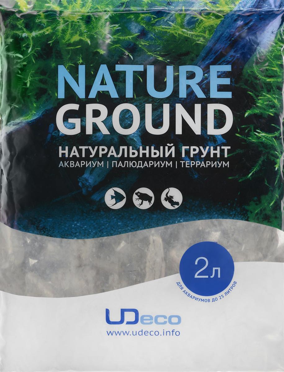 Грунт для аквариума UDeco Волнистая галька, натуральная, 30-50 мм, 2 лUDC431542Натуральный грунт UDeco Волнистая галька предназначен специально для оформления аквариумов, палюдариумов и террариумов. Изделие готово к применению. Грунт UDeco порадует начинающих любителей природы и самых придирчивых дизайнеров, стремящихся к созданию нового, оригинального. Такая декорация придутся по вкусу и обитателям аквариумов и террариумов, которые ещё больше приблизятся к природной среде обитания. Необходимое количество грунта рассчитывается по формуле: длина аквариума х ширина аквариума х толщина слоя грунта. Предназначен для аквариумов от 25 литров. Фракция: 30-50 мм. Объем: 2 л.