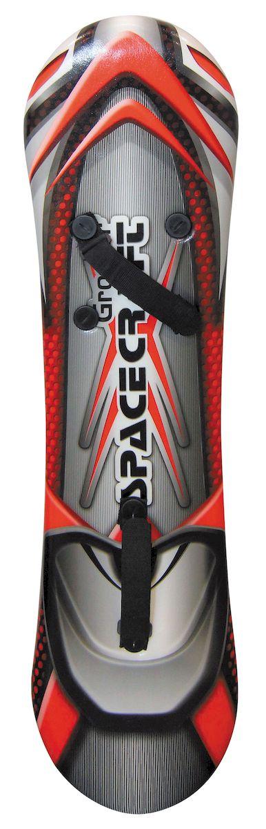 Ледянка-сноуборд 1toy Groover, с креплениями для ног, 109 смТ57221Ледянка-сноуборд для любителей зимних спортивных развлечений. Мах нагрузка: 100 кг.