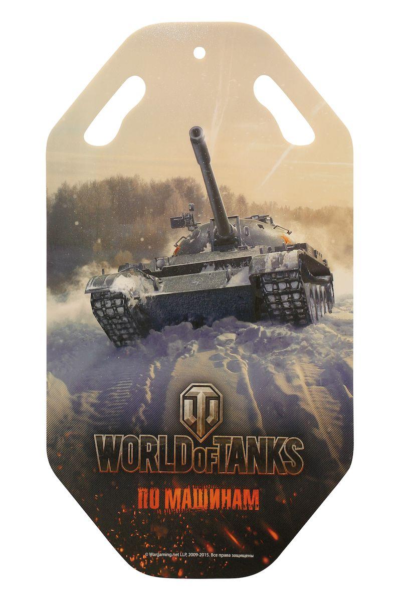 Ледянка World of Tanks, 92 смТ58180Ледянка для любителей зимних спортивных развлечений с героями любимой игры.