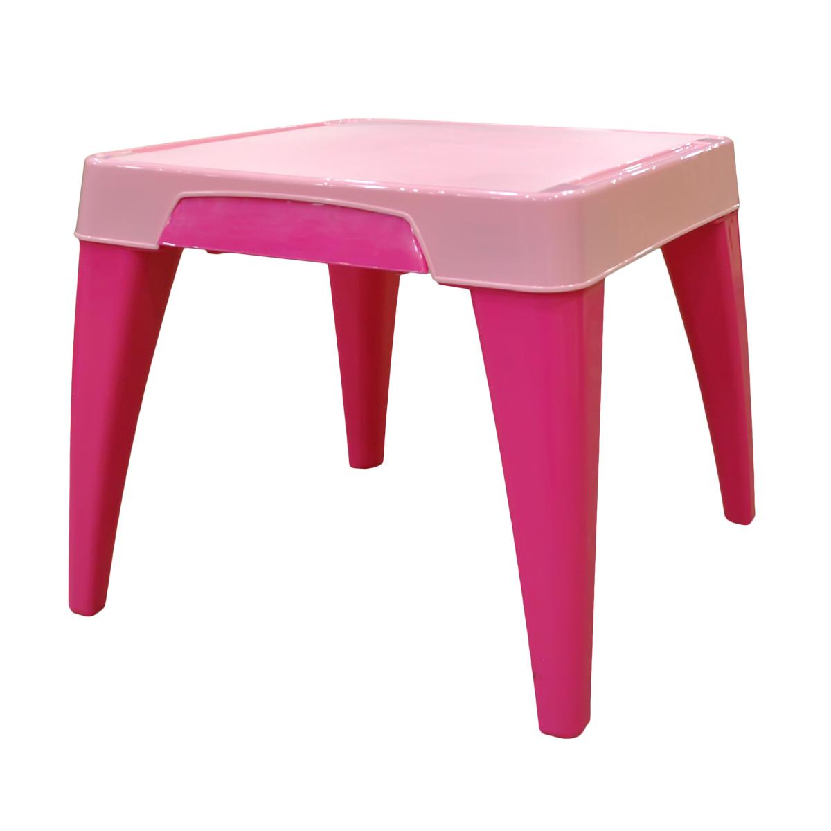 Стол детский Little Angel Я расту, цвет: розовыйМ 2290_ желтыйДетский стол от Little Angel – Ваш верный спутник в организации комфорта для малыша. Оптимальные пропорции и продуманная с учетом всех потребностей ребенка конструкция, делают стол идеальным для обучения, игр и приема пищи. Закругленные углы столешницы и ножек для безопасности малыша. Выдвижной ящик для хранения важных мелочей. Углубления по краям столешницы для карандашей, ручек и кисточек. Нескользящая поверхность стола для комфортных игр и обучения. Противоскользящие накладки на ножках для использования на любой поверхности. Особо прочная конструкция ножек стола для надежной и безопасной эксплуатации.
