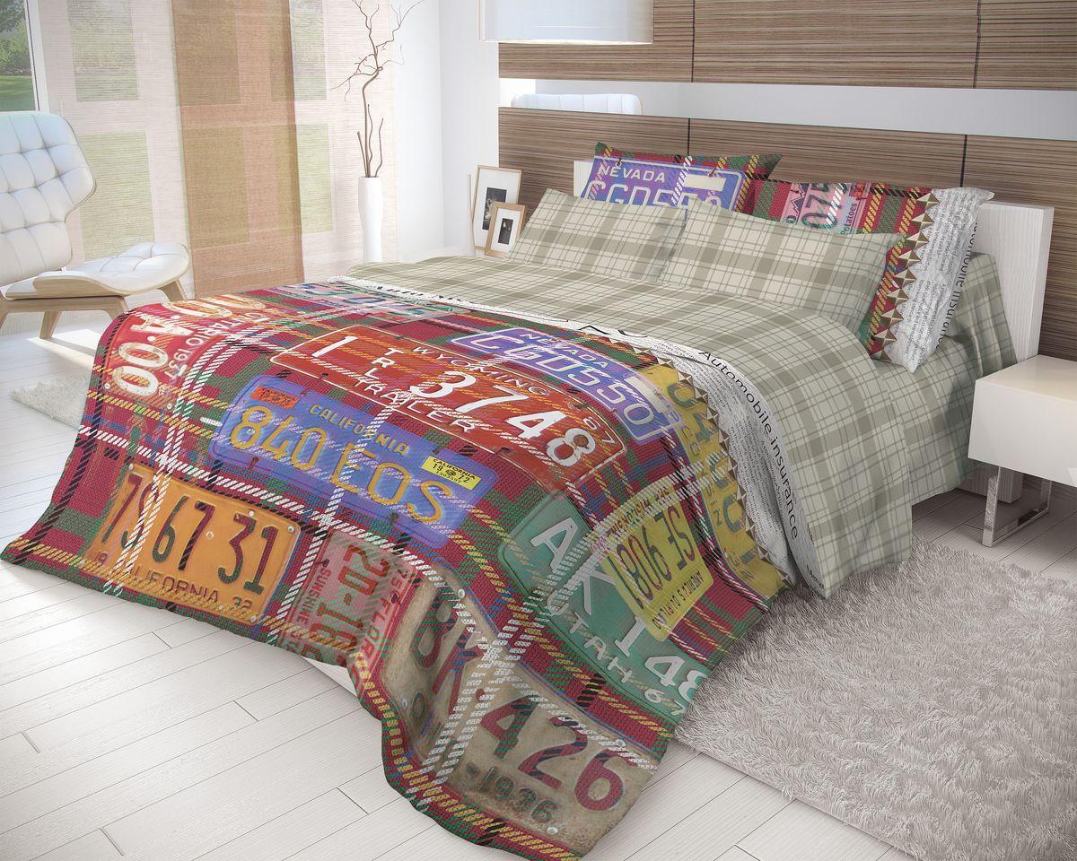 Комплект белья Волшебная ночь Nevada, 2-спальный, наволочки 70x70, цвет: мультиколор702161Роскошный комплект постельного белья Волшебная ночь Nevada выполнен из натурального ранфорса (100% хлопка) и украшен оригинальным рисунком. Комплект состоит из пододеяльника, простыни и двух наволочек. Ранфорс - это новая современная гипоаллергенная ткань из натуральных хлопковых волокон, которая прекрасно впитывает влагу, очень проста в уходе, а за счет высокой прочности способна выдерживать большое количество стирок. Высочайшее качество материала гарантирует безопасность. Доверьте заботу о качестве вашего сна высококачественному натуральному материалу.