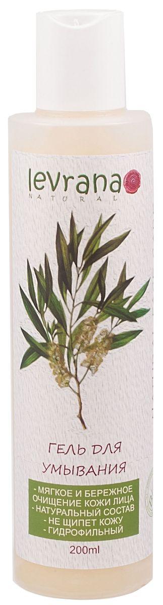 Levrana Гель для умывания Чайное Дерево, гидрофильный, 200 млFCC02Гидрофильный гель Чайное Дерево для умывания кожи лица. Мягко и эффективно очищает и увлажняет кожу. Подходит для ежедневного применения, не щиплет кожу и глаза. Кожа остается увлажненной и мягкой на долгий период. При соприкосновении с водой гель превращается в очень нежное молочко.