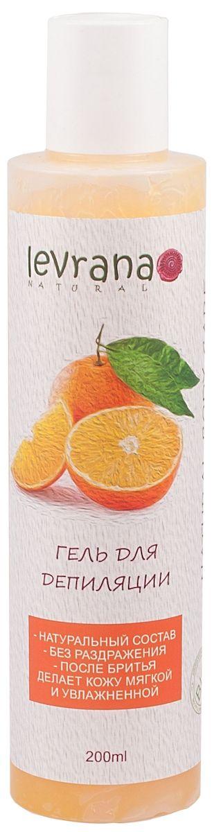 Levrana Гель для депиляции Сладкий Апельсин, 200 млSHG02Гидрофильный гель Сладкий Апельсин для депиляции. Мягкое и бережное бритье - это реально! Смягчает и увлажняет кожу, после бритья можно не использовать дополнительные увлажняющие лосьоны и крема. Кожа остается увлажненной на целый день. При соприкосновении с водой гель превращается в очень нежное молочко.