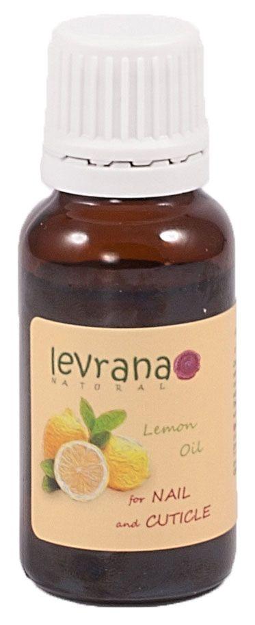 Levrana Масло для кутикулы Лимон, 15 млMO05100% натуральное масло Лимон для кутикулы. Активно питает и смягчает кутикулу и укрепляет ногтевую пластину. Благодаря содержанию масла Лимона Испанского даёт отбеливающий эффект. Рост ногтей усиливается и они становятся более крепкими. Масло для кутикулы сохраняет маникюр на более долгий период.