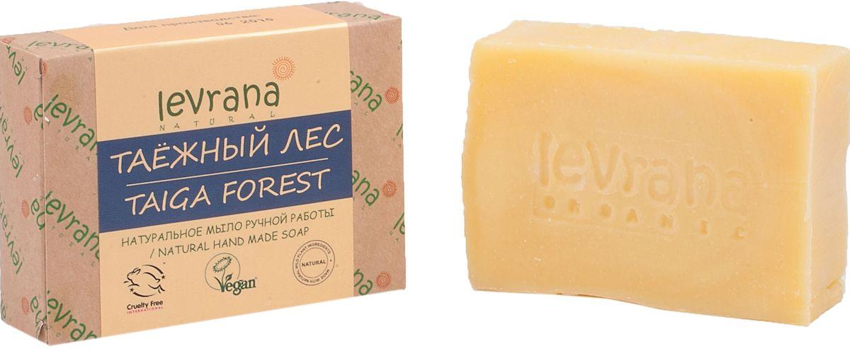 Levrana Натуральное мыло ручной работы Таёжный лес, 100 гFA-8116-1 White/pinkНатуральное мыло очень бережно очищает кожу лица и тела. Ежедневное умывание позволит вам избавиться от сальности, вы забудете что такое проблемная Т-зона.Натуральное мыло ручной работы сделано только на растительных маслах, и обогащено экстрактами растений и ягод.