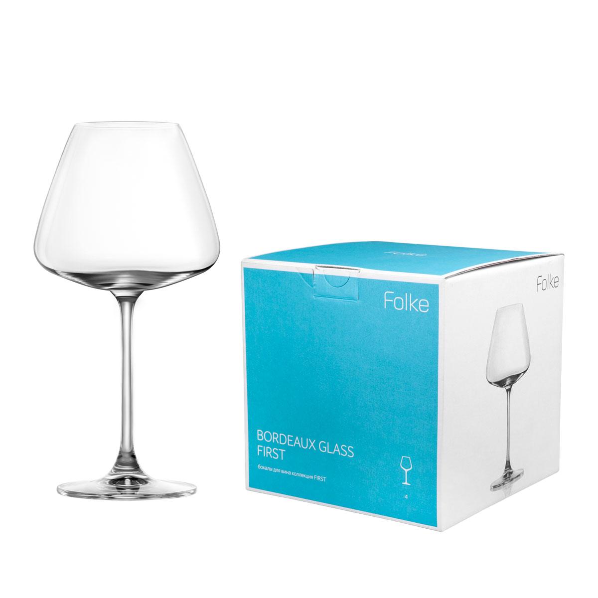 Набор бокалов для вина Folke Bordeux Glass, 590 мл, 4 предмета. 2007171U2007171UКоллекция First- это бокалы из бессвинцового хрусталя высшего качества. Наша продукция отличается исключительной чистотой и повышенной устойчивостью к механическим повреждениям. Улучшенные характеристики изделий позволяют использовать их повседневно в домашних условиях и в ресторанном бизнесе. Оригинальный дизайн позволяет любому напитку полностью раскрыться и заиграть новыми красками. Это поистине уникальное творение современных технологий и многолетнего опыта лучших мировых сомелье.