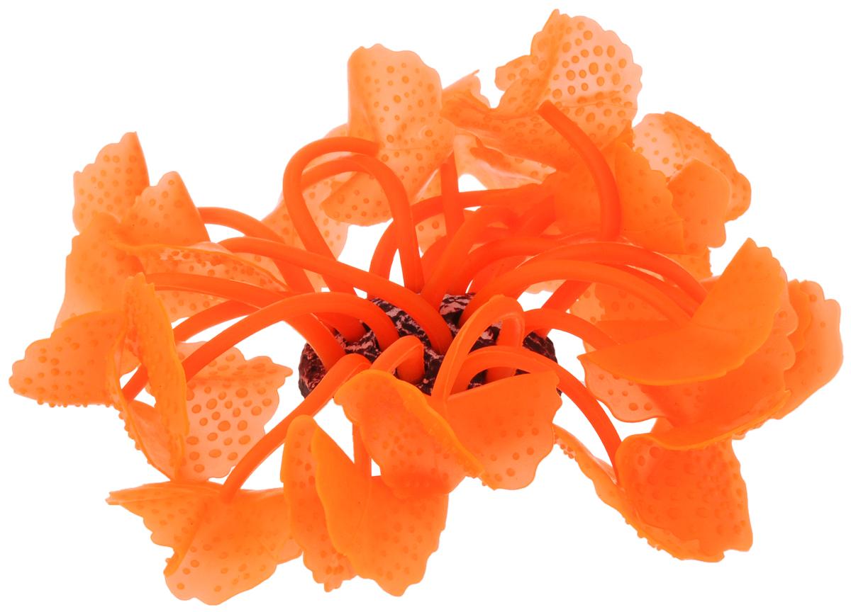 Декорация для аквариума Barbus Коралл, силиконовая, цвет: оранжевый, 5,5 х 5,5 х 12 смDecor 237Декорация для аквариума Barbus Коралл, выполненная из высококачественного силикона, станет оригинальным украшением вашего аквариума. Изделие отличается реалистичным исполнением, в воде создается полная имитация настоящего коралла. Декорация абсолютно безопасна, нейтральна к водному балансу, устойчива к истиранию краски, не токсична, подходит как для пресноводного, так и для морского аквариума. Благодаря декорациям Barbus вы сможете смоделировать потрясающий пейзаж на дне вашего аквариума.